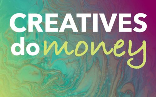 creatives do money podcast with eowyn levene money coach to self-employed creatives