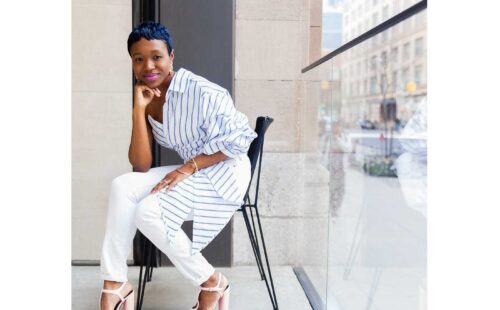 phylicia bernard - stylist and entrepreneur - lead generation, crowdfunding, and money goals - creatives do money podcast with eowyn levene